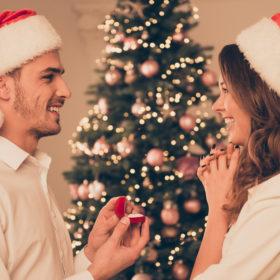 福岡結婚相談所ひまわりブーケのクリスマスプロポーズまでギリギリセーフの画像